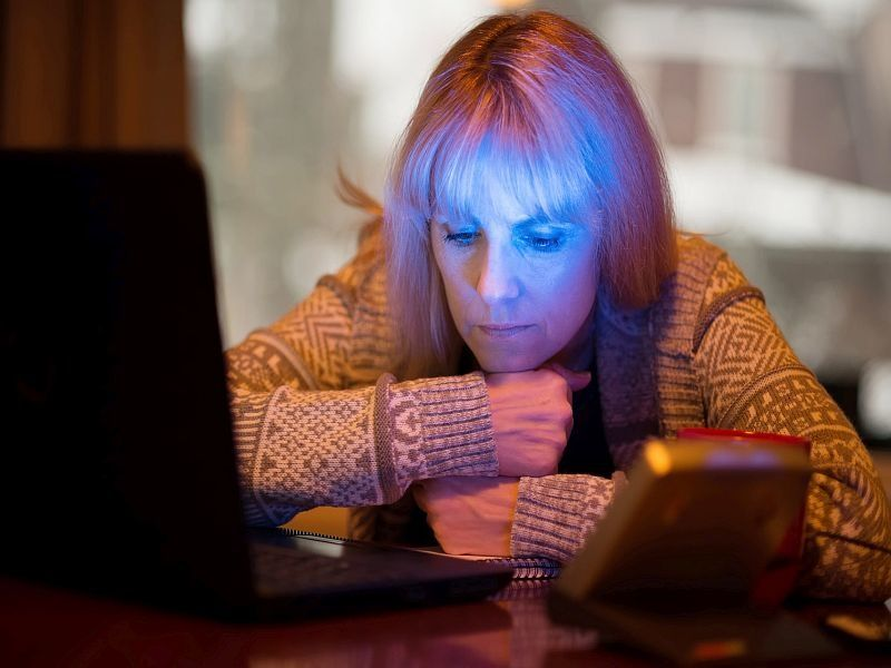 News Picture: Loneliness in Mid-Life Linked to Higher Odds for Alzheimer's