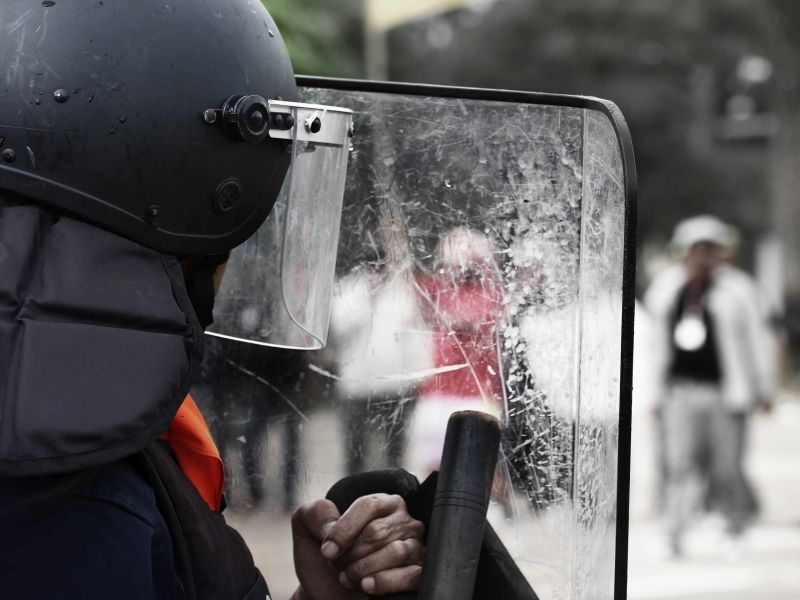 Not Harmless: Rubber Bullets, Pepper Spray Rob Vision