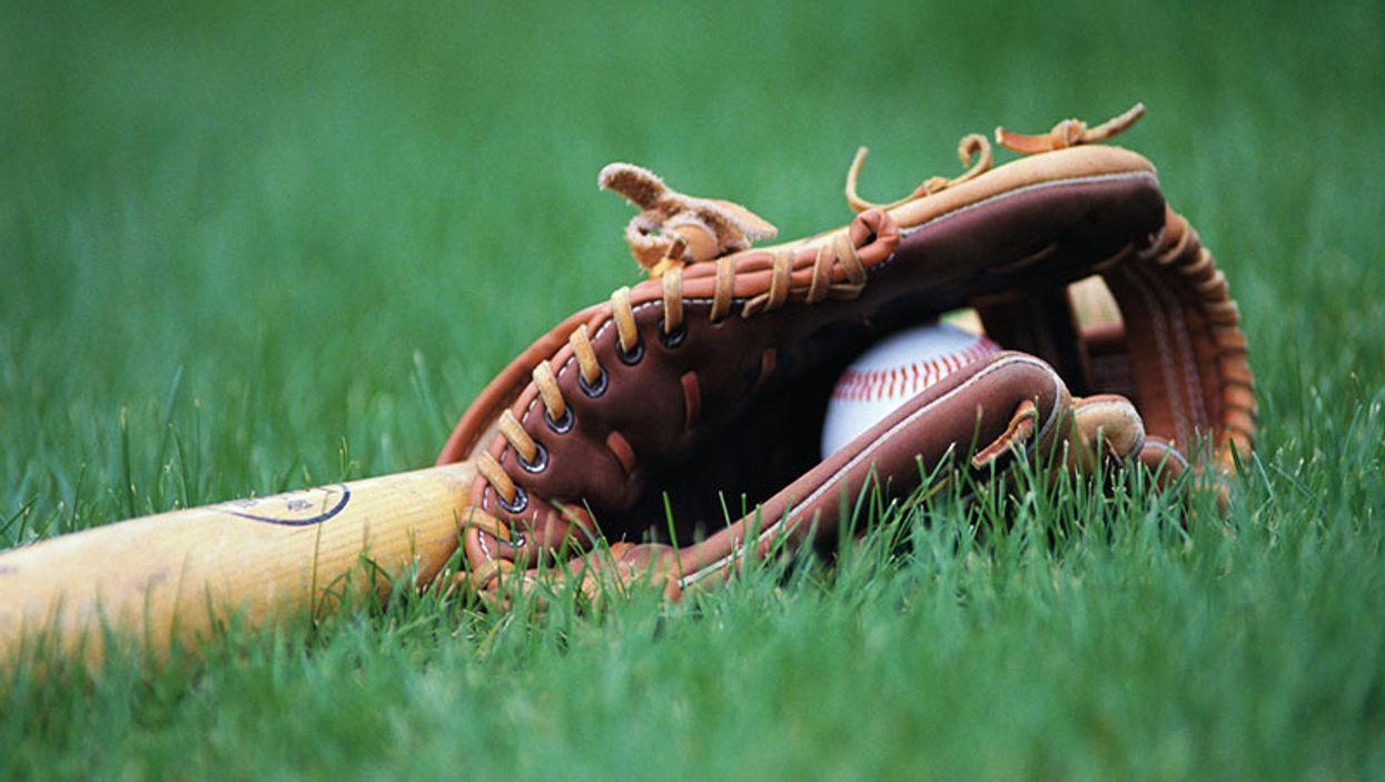 baseball player making a catch