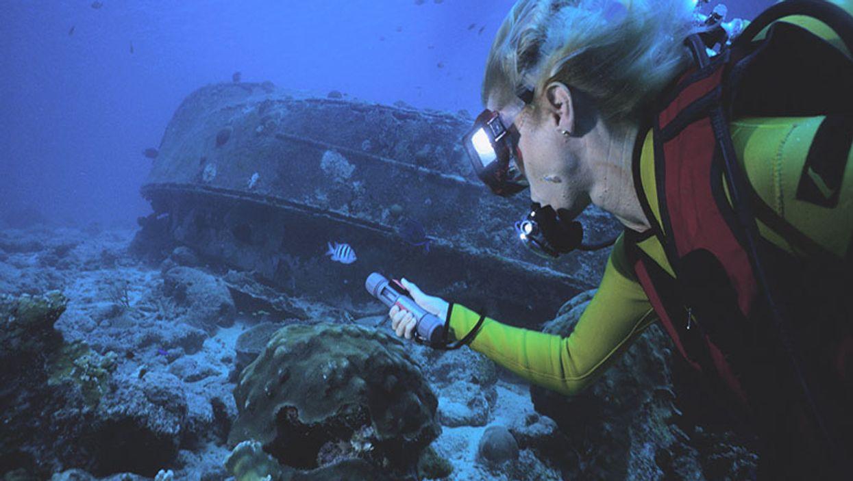 finding a scuba wreck