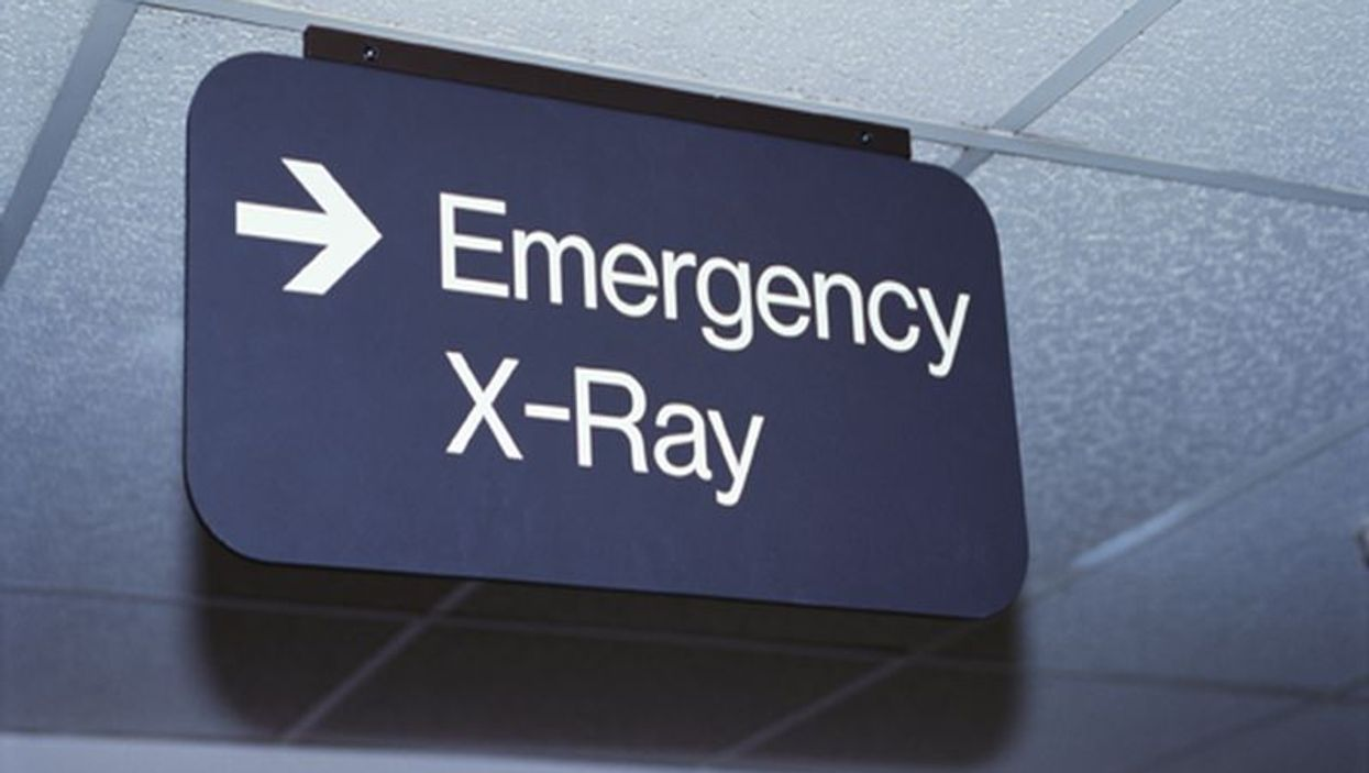 emergency xray sign