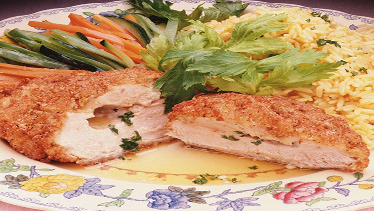 chicken with rice dinner