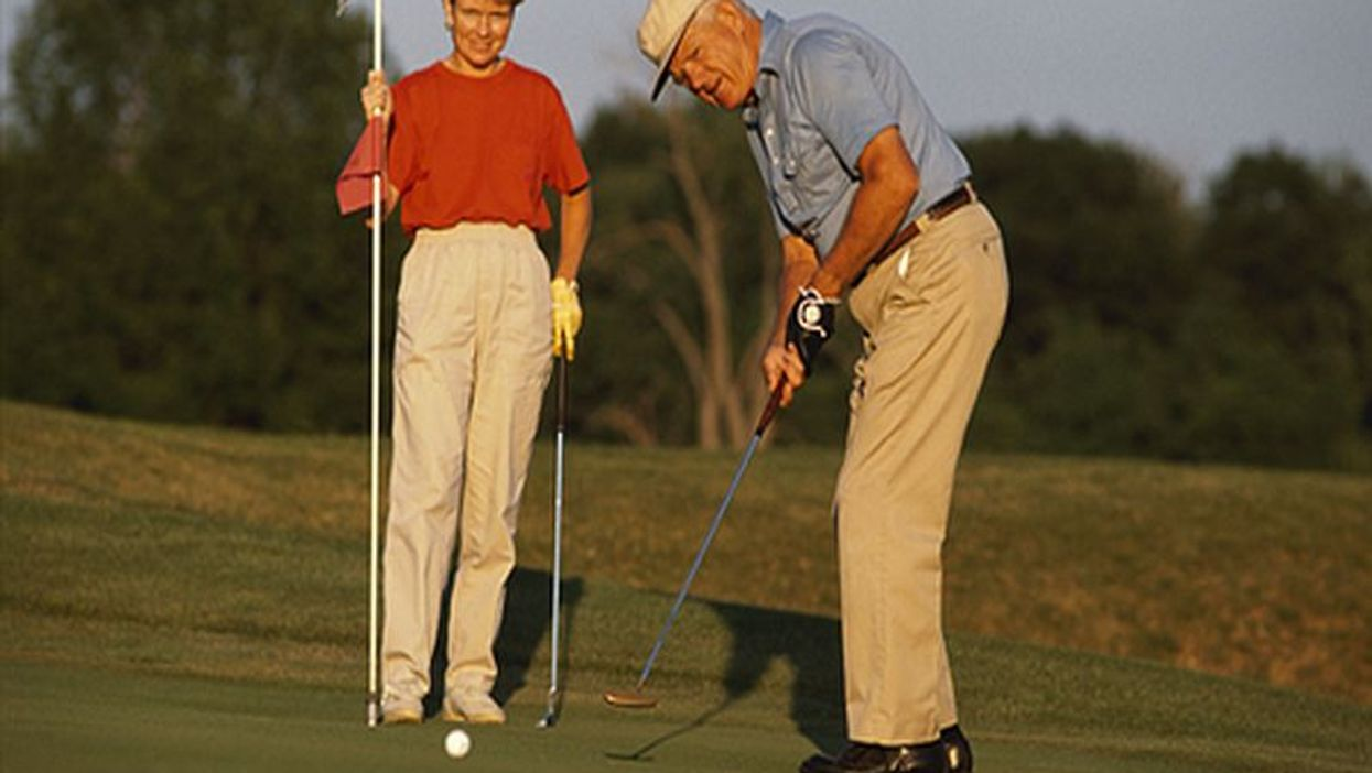 Could Taking a Swing at Golf Help Parkinson's Patients?