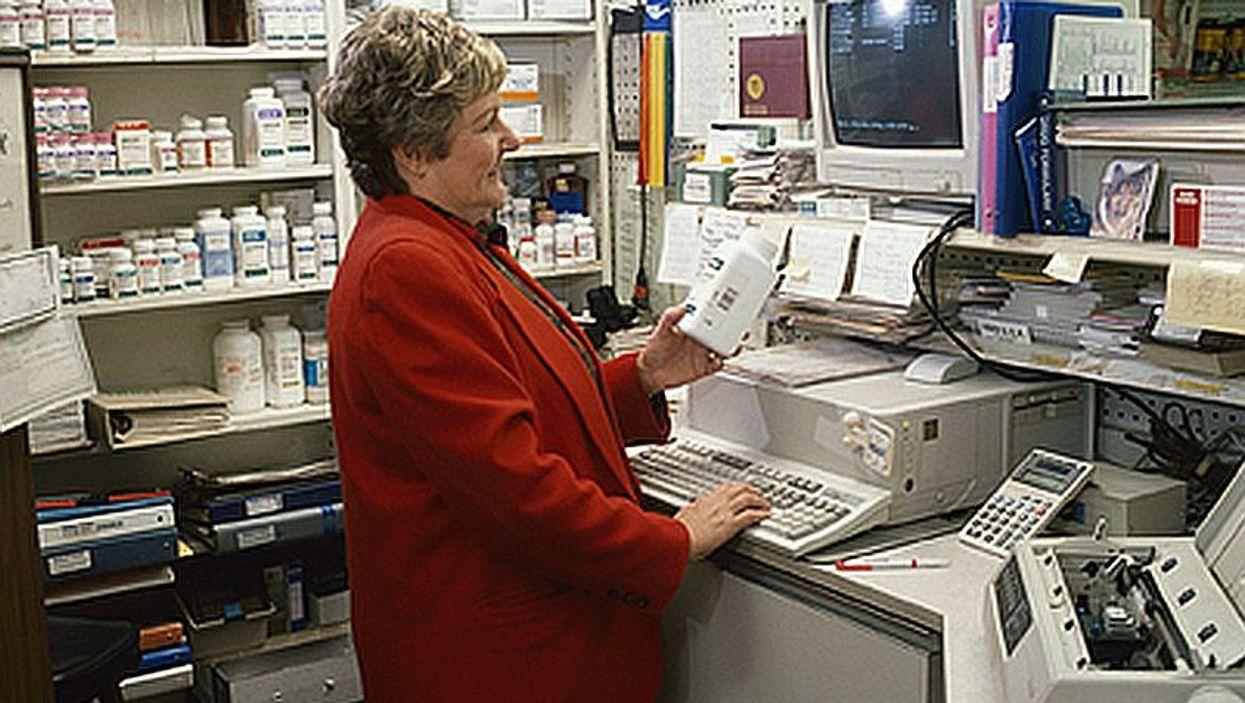 pharmacy checkout