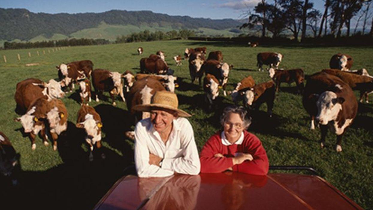 seniors on farm