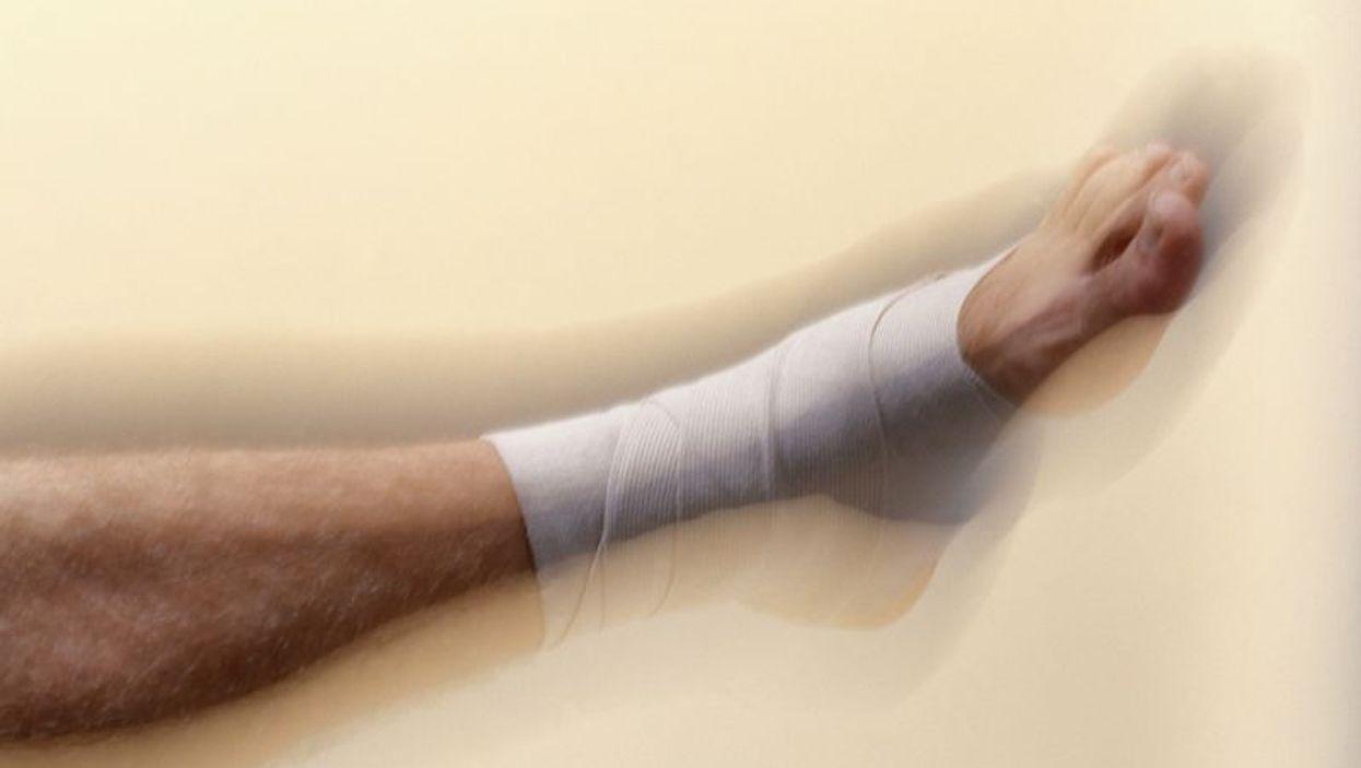 sprain leg bandage