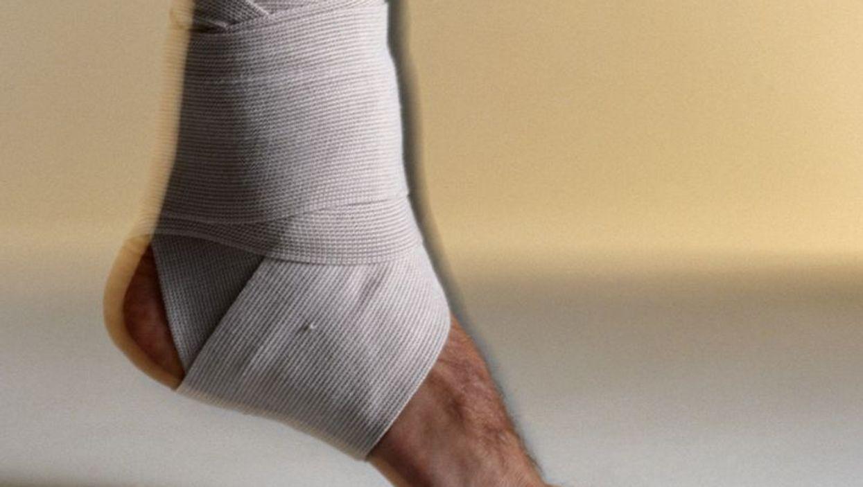 sprain ankle bandage