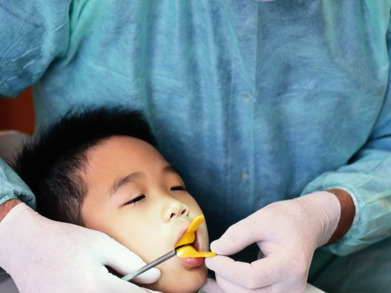 News Picture: School Dental Care Program Could Cut Cavities in Half: Study