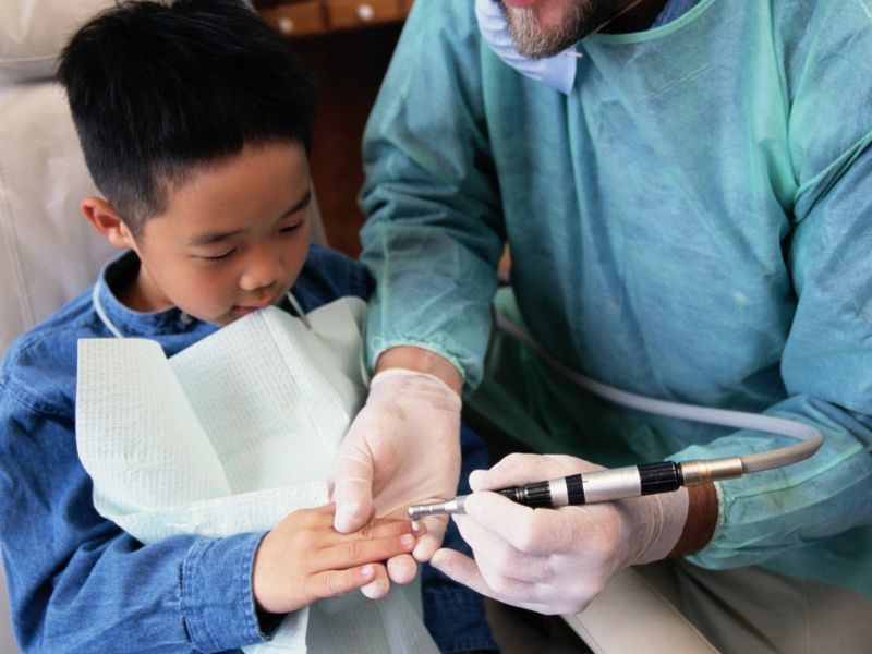 News Picture: Few Kids Seeing a Dentist Have COVID-19, Study Finds
