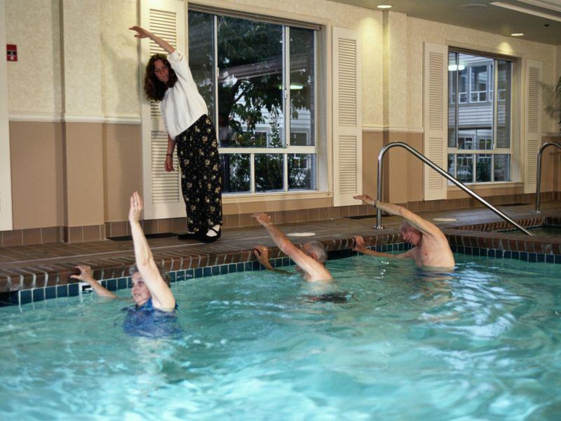 Amid Lockdowns, Online Exercise Classes Help Seniors Feel Less Alone