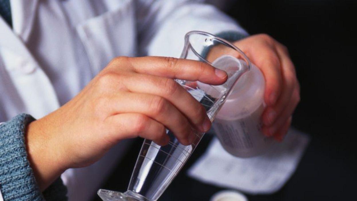mixing medication
