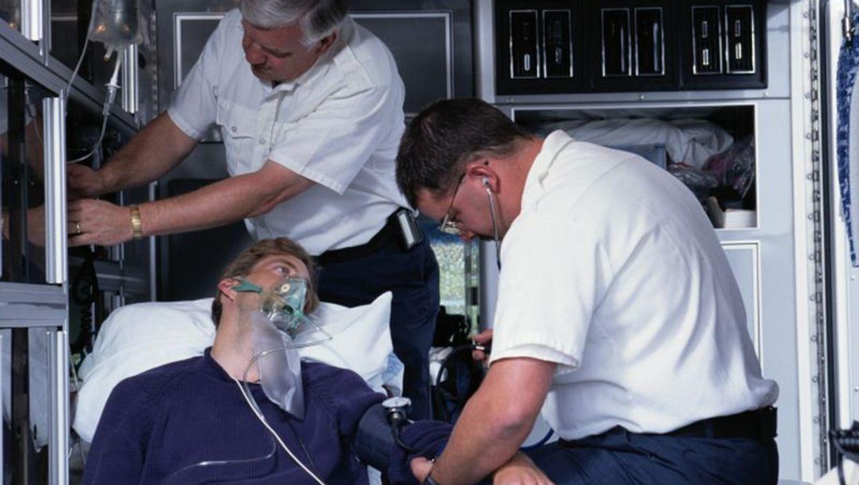 ambulance patient