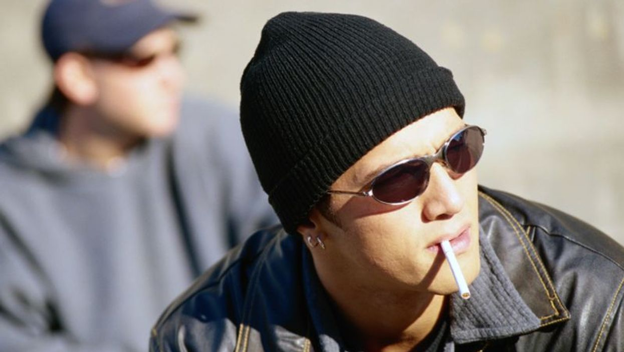 teen smoking