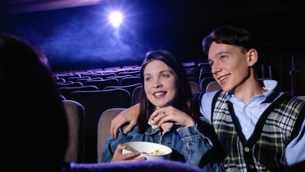 couple in the movies