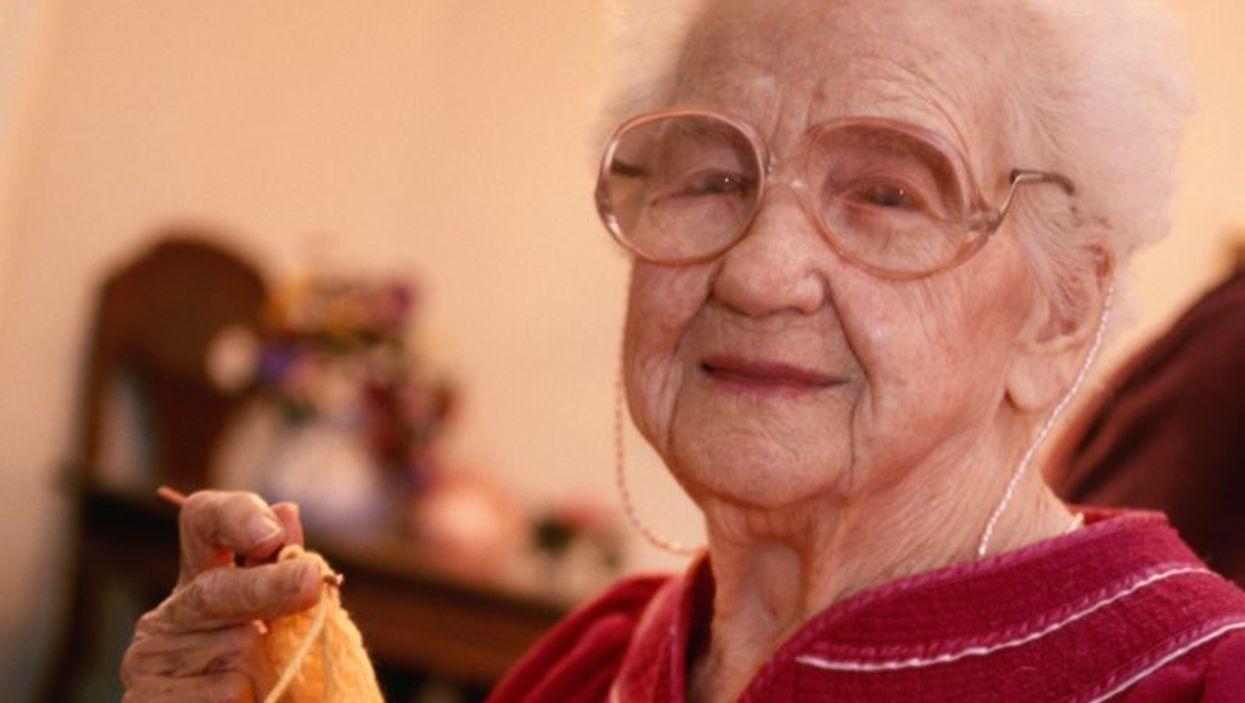 woman senior