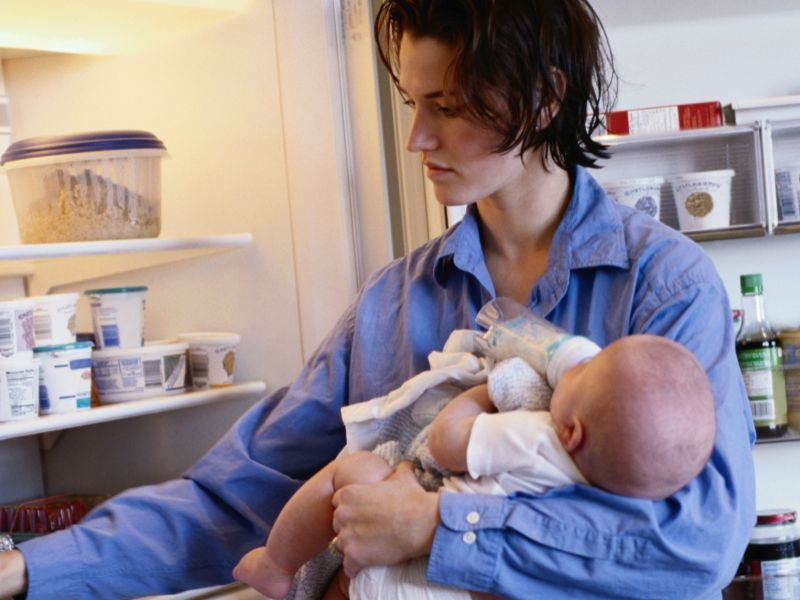 News Picture: OCD May Be More Common in New Moms Than Thought
