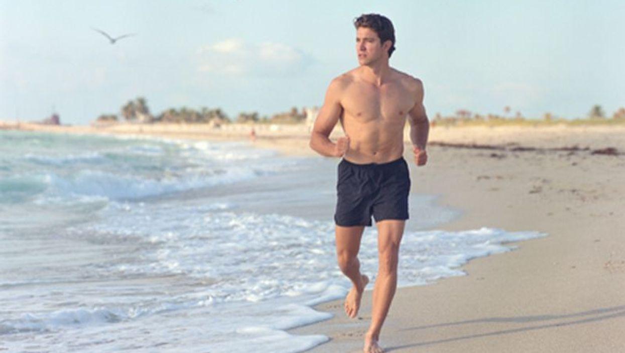 man by the seashore