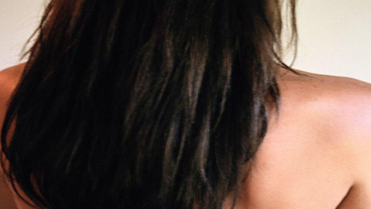 woman\'s hair