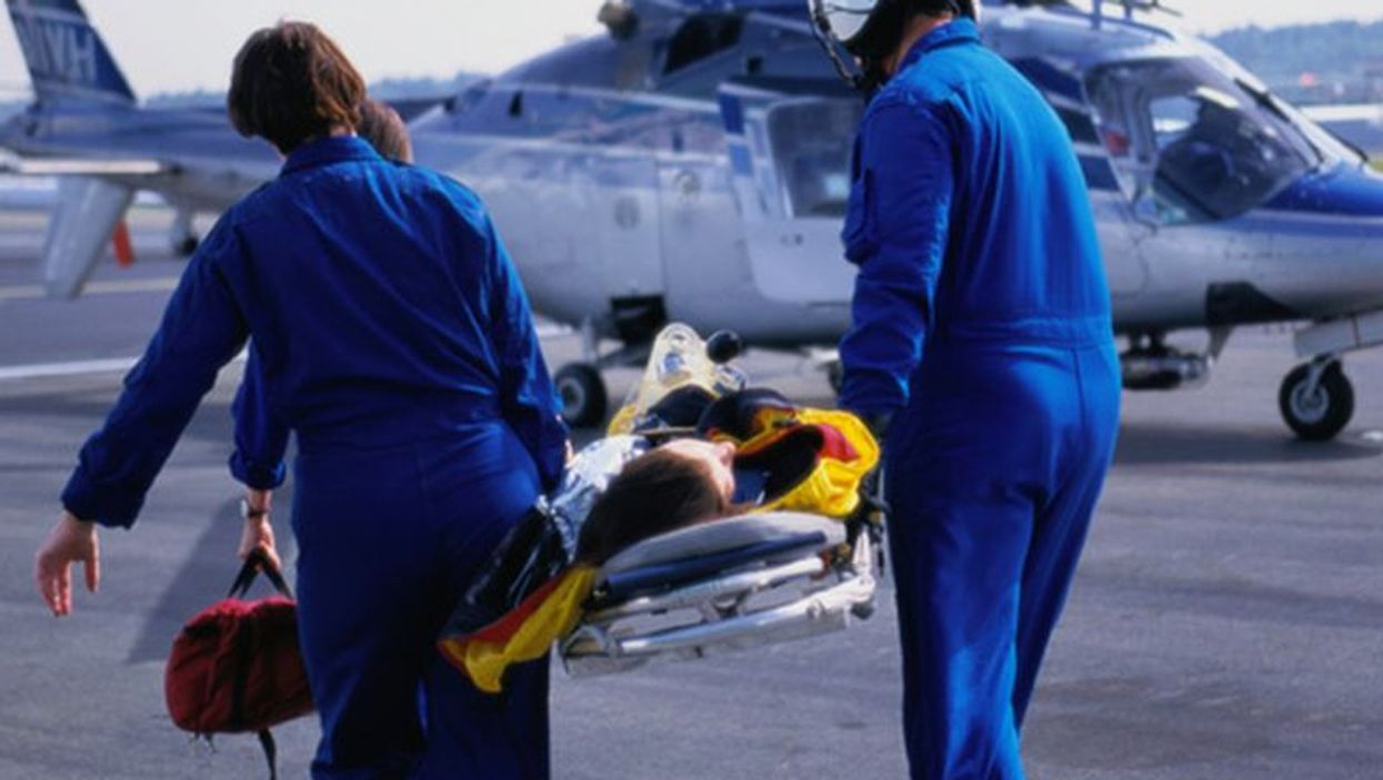 helicopter medical emergency