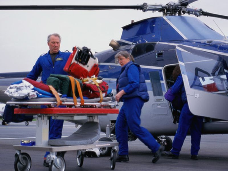 News Picture: Are Pricey Air Ambulance Rides Really Saving More Lives?