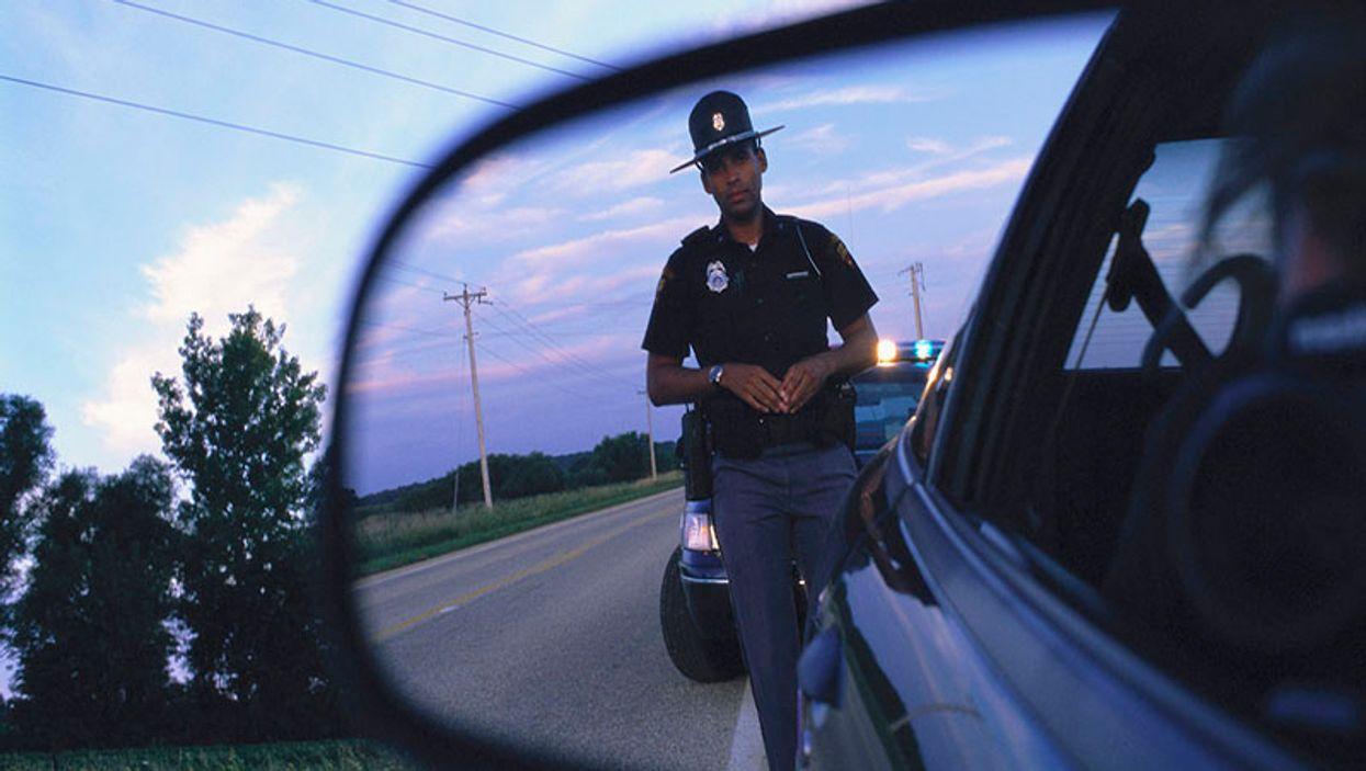 police car control