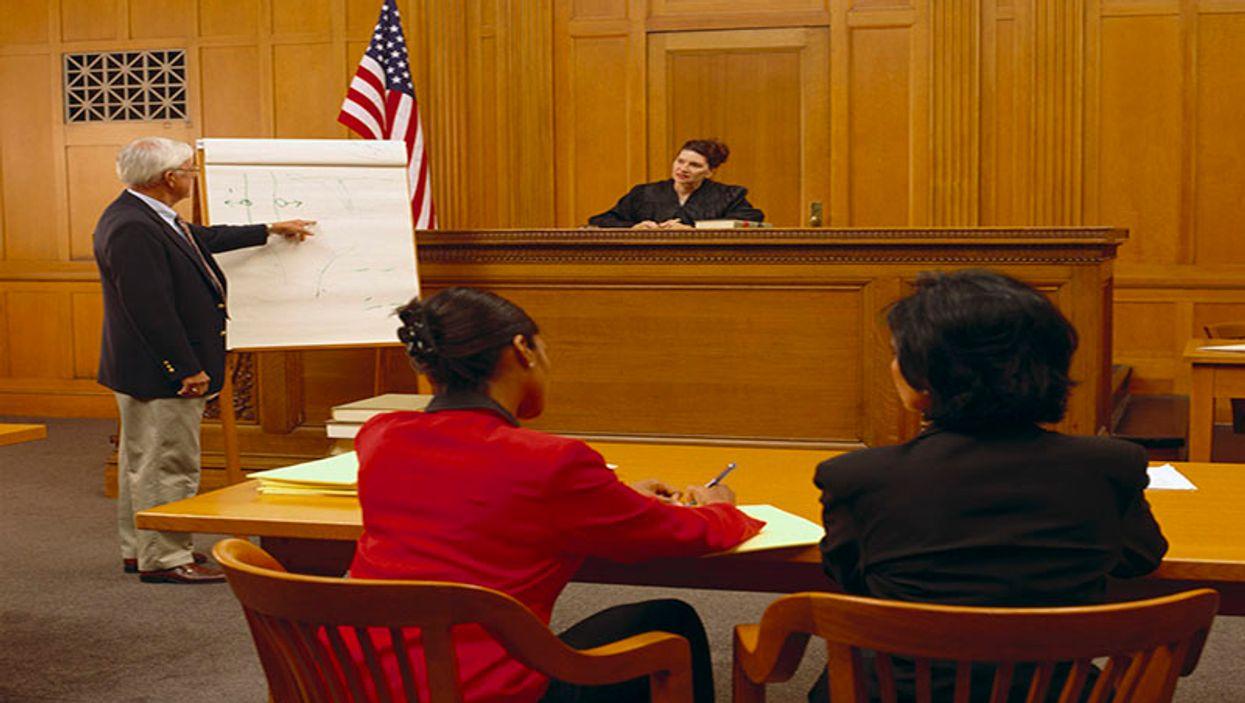 court room case