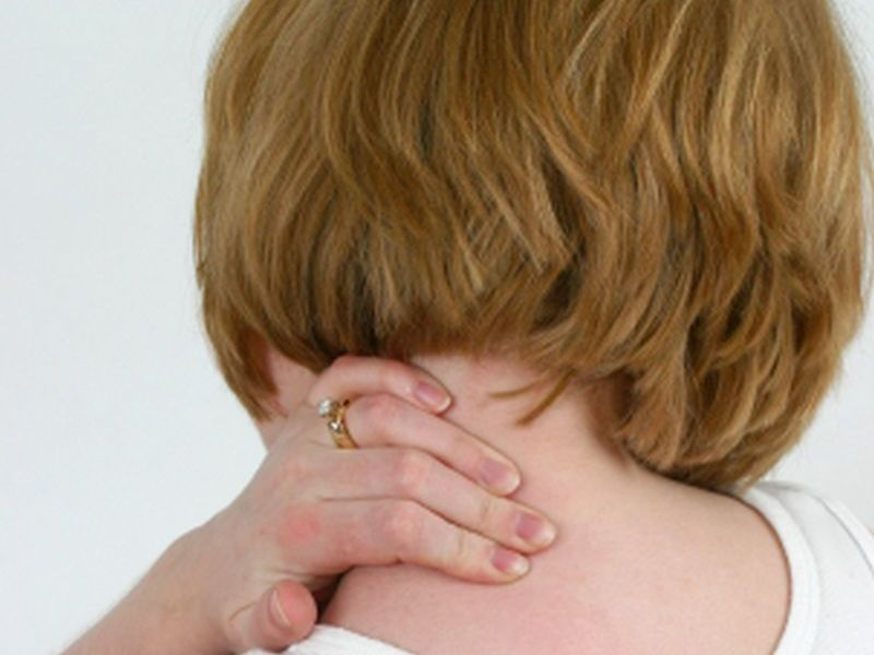 News Picture: These Factors Could Lead to a Real Pain in the Neck