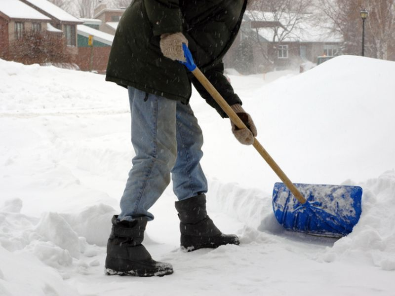 Snow Shoveling, Slips on Ice Bring Cold Weather Dangers