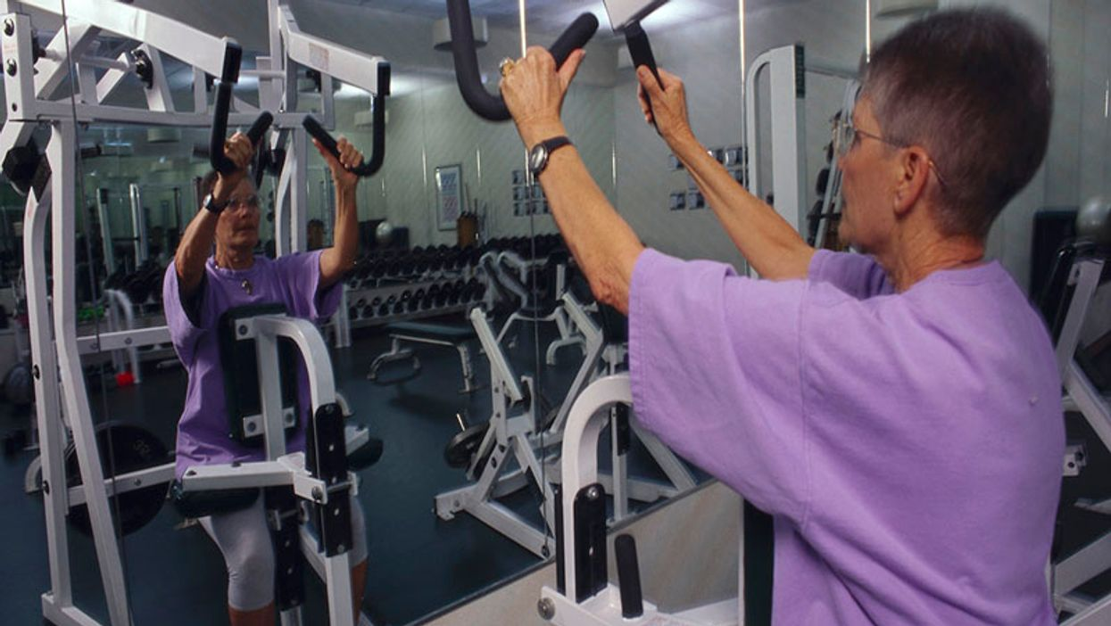 Weight Training Benefits Older Women, Men Equally, Study Shows