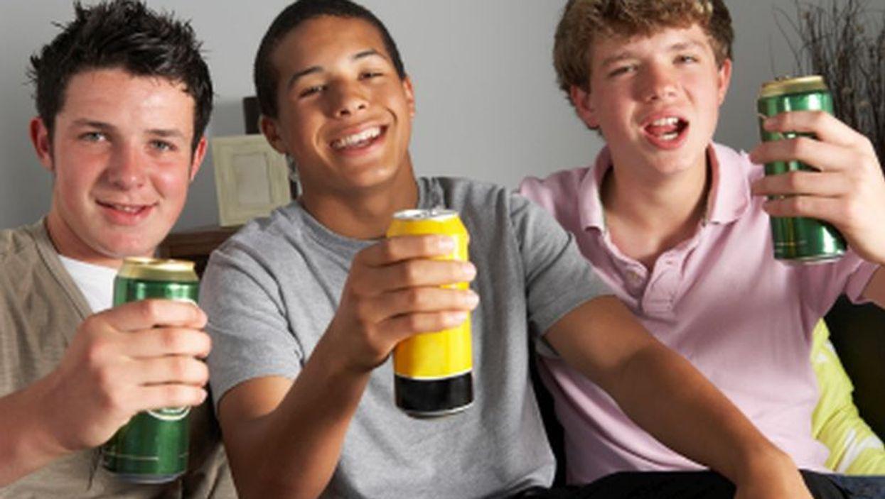 teen drinkers