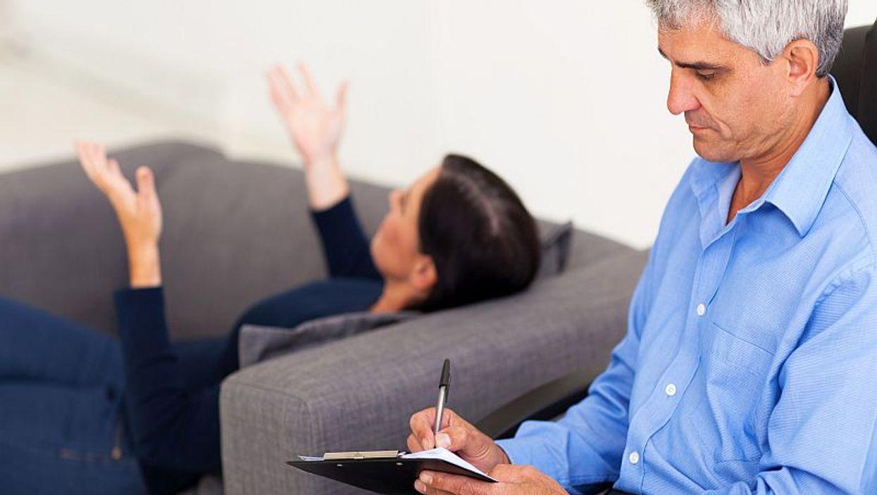 psychiatrist and patient
