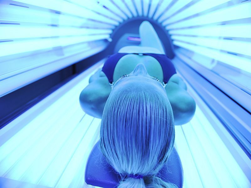News Picture: Teen Tanning Bed Ban Would Prevent Thousands of U.S. Melanoma Cases