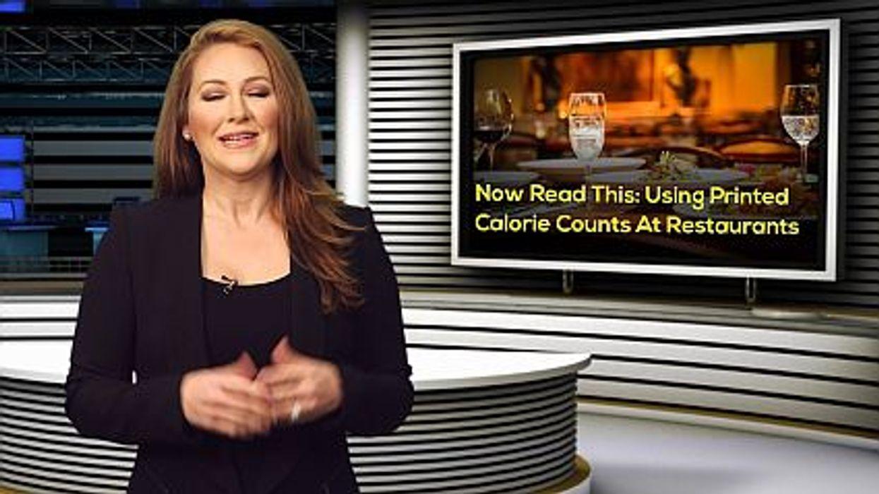 calorie counts at restaurants