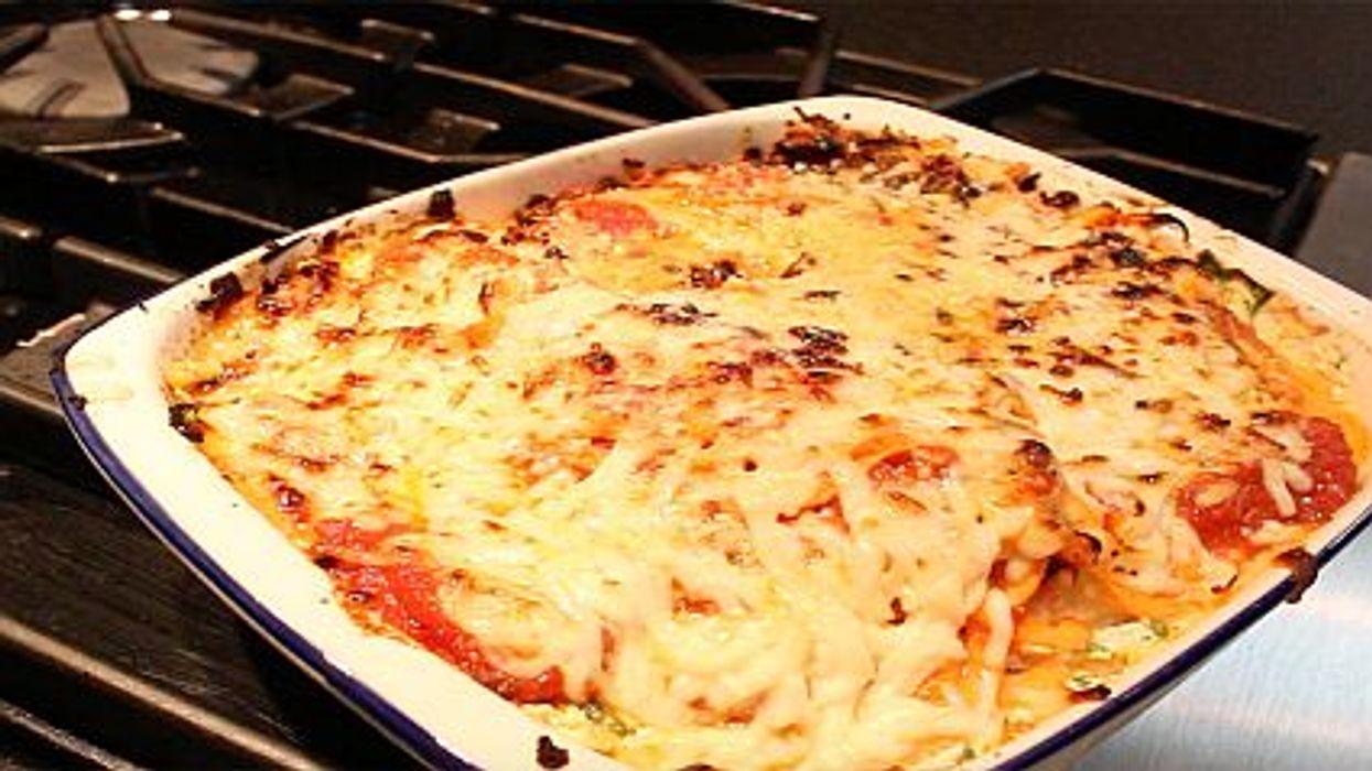 lighten lasagna