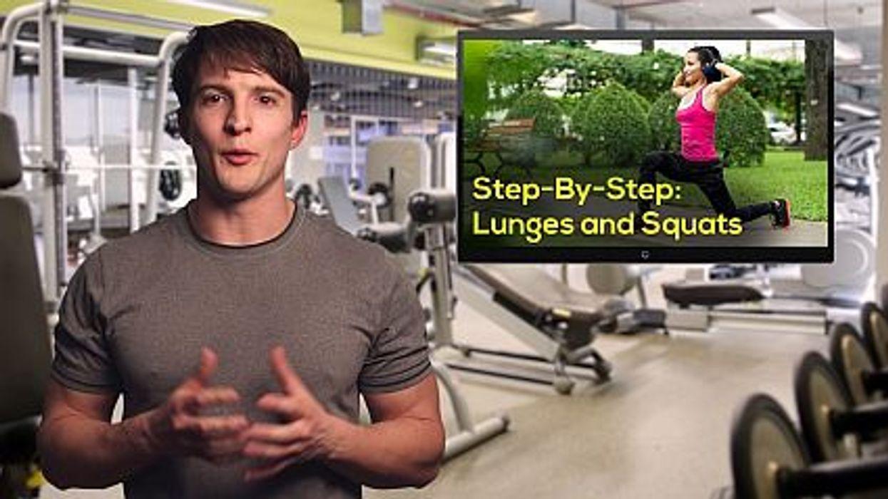 lunge squats