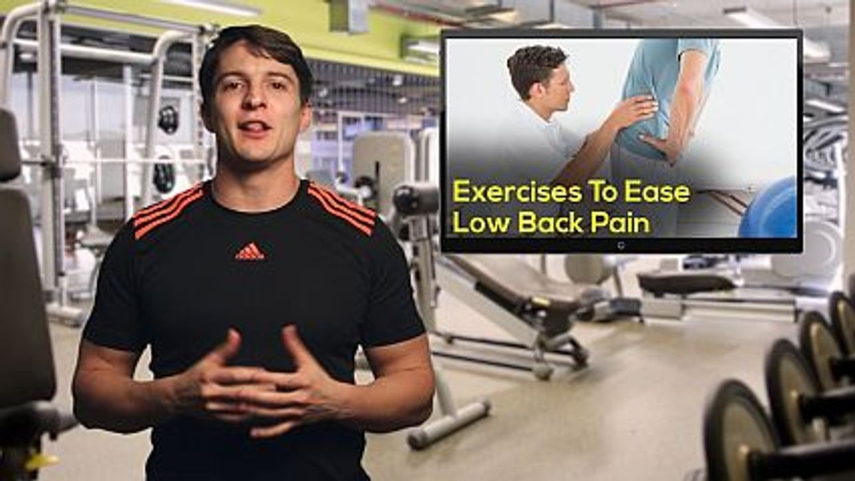 ease lower back pain