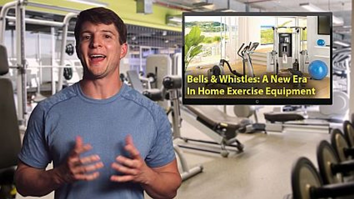 exercise equipment bells and whistles