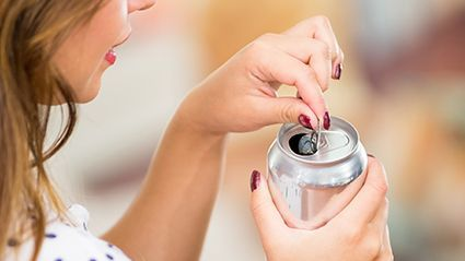 News Picture: Lots of Sugary Drinks Doubles Younger Women's Colon Cancer Risk: Study