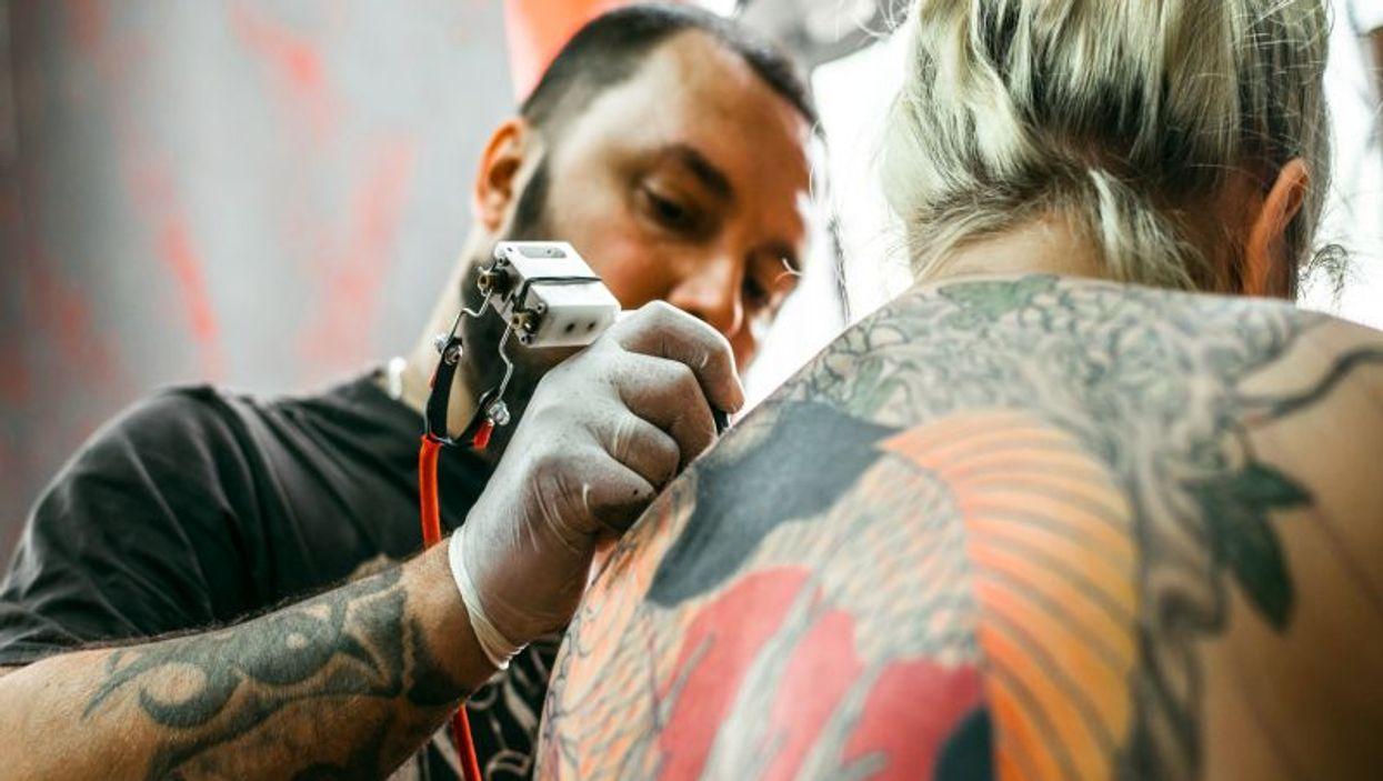 creating a tattoo
