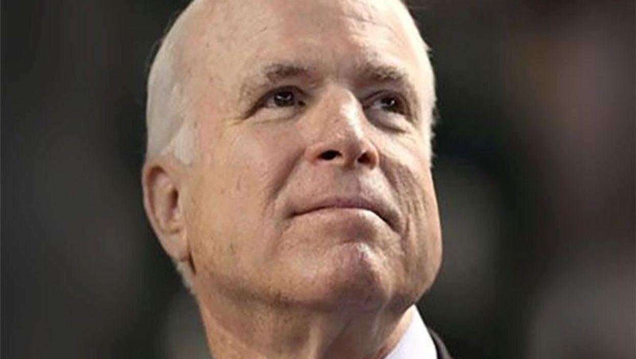 Senator John McCain (R.-Ariz.)