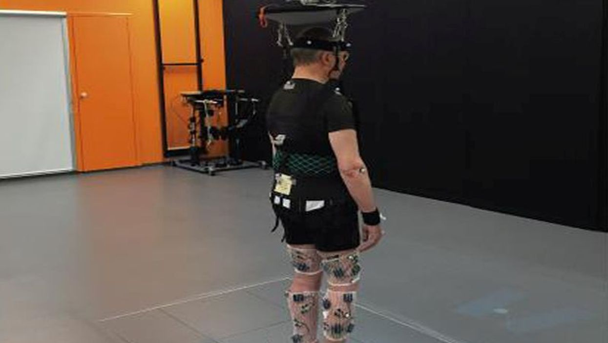 Robotic rehab harness