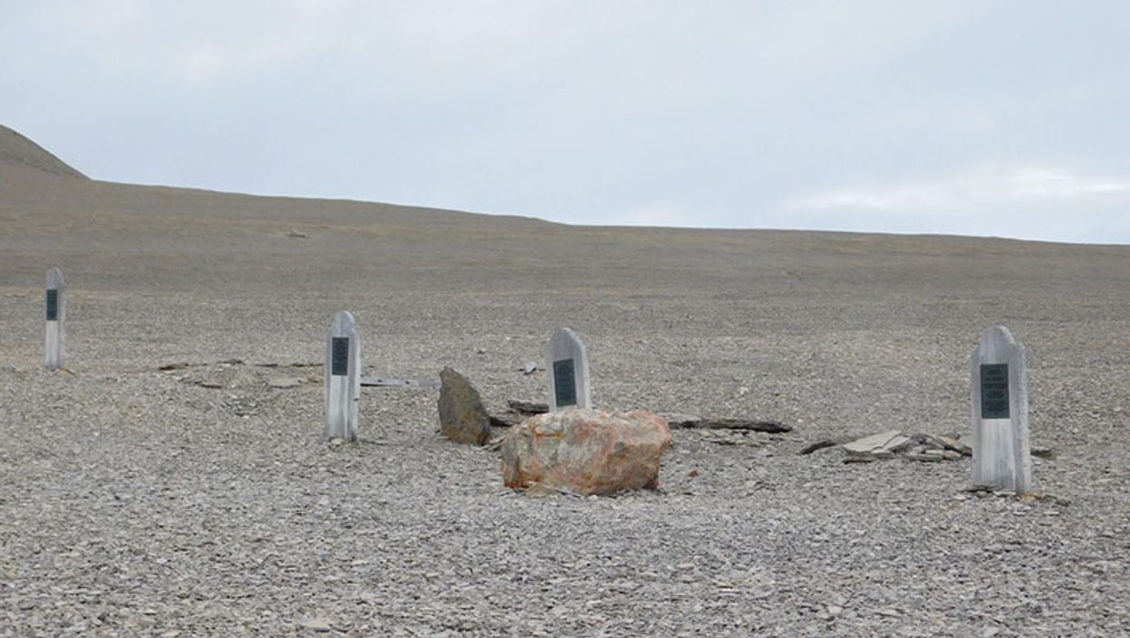 Dentist Roots Out Clues to Doomed Arctic Expedition