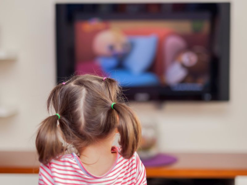 News Picture: Media, TV Time Doubled for Kindergartners During Pandemic