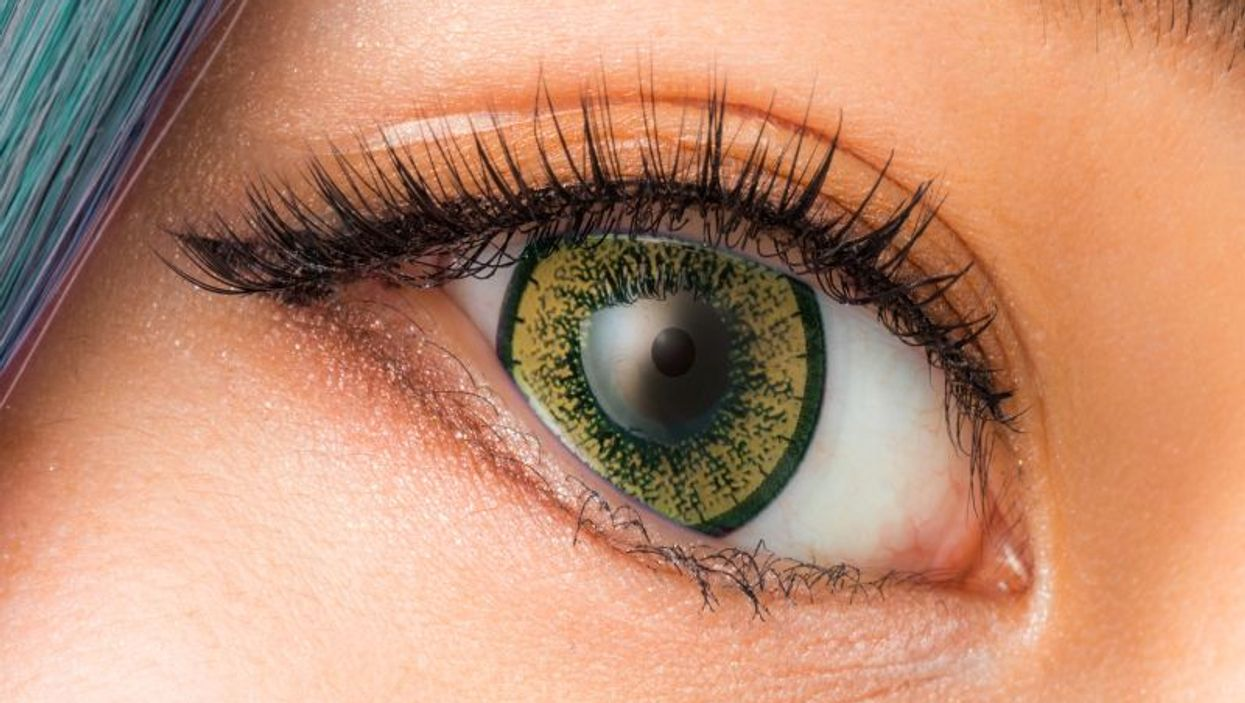 costume contact lens
