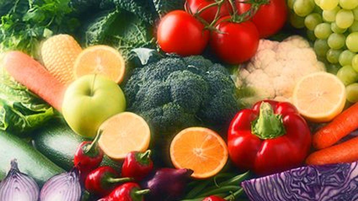 fruit and veggies recount