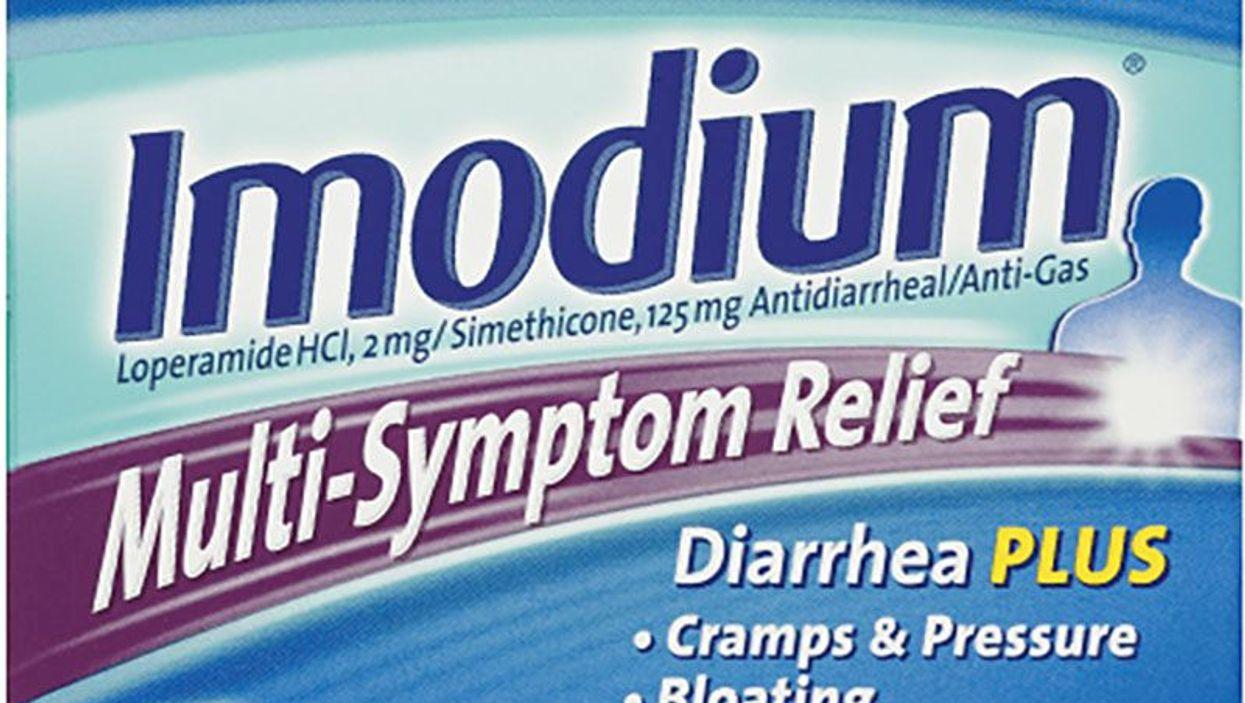 imodium for diarrhea packaging