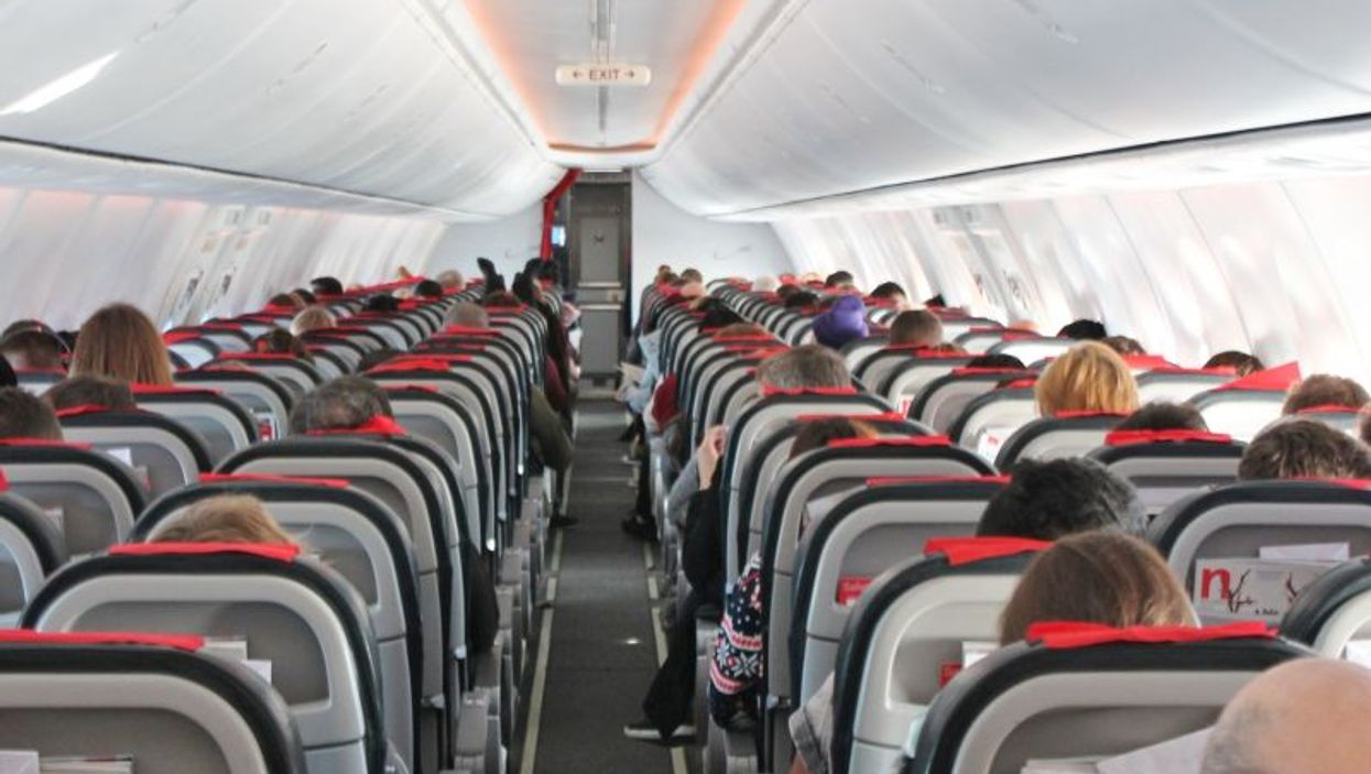plane cabin