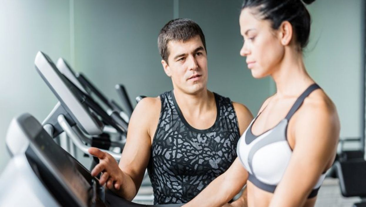 trainer and training machine