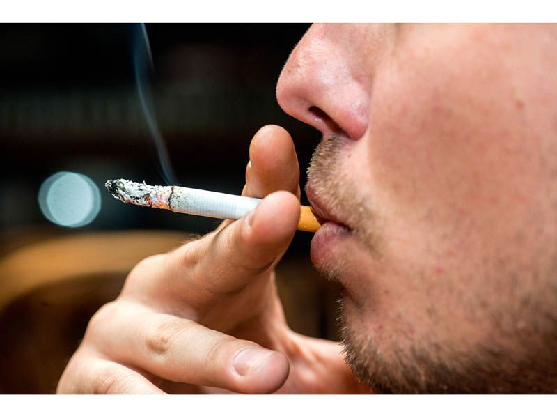 Bored & Stressed, Smokers Smoked More  During Pandemic