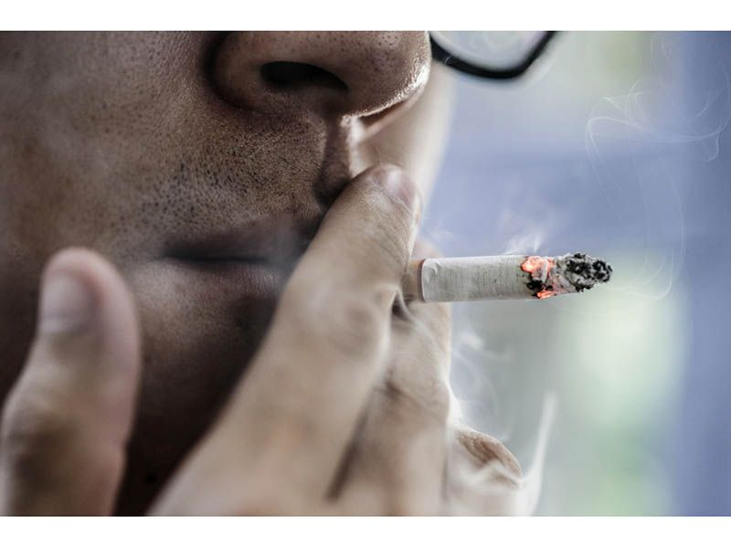 News Picture: COVID Lockdowns Got People Smoking More